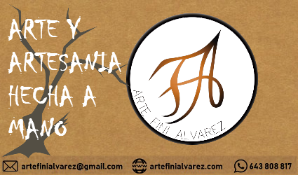 tarjeta etiqueta ArteFiniAlvarez
